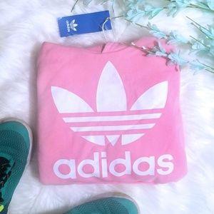 NWT Adidas Pink Hoodie